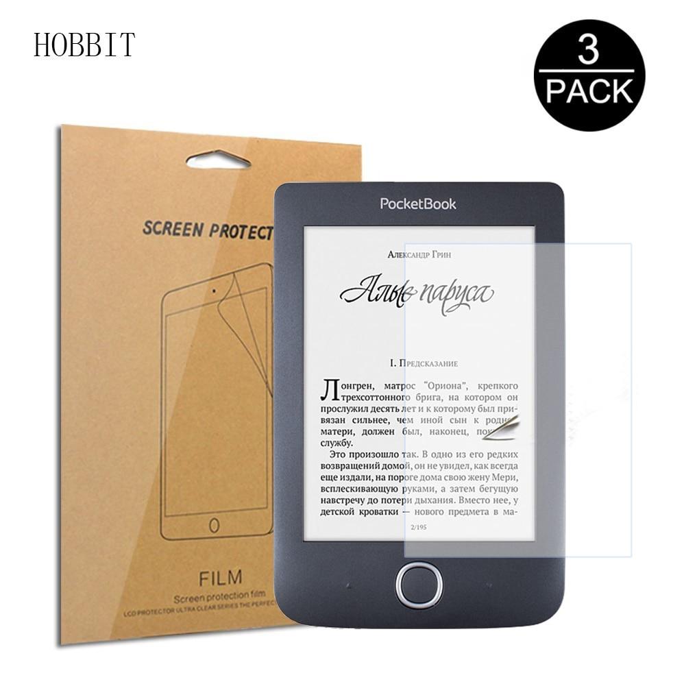 3Pack Transparent PET Screen Protector For Pocketbook 624 626 627 631 632 6