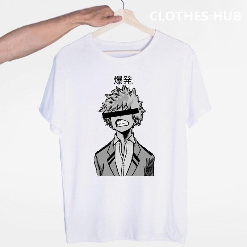 My Hero Academia T-shirts Japanese Anime Boku No Hero Academia For Man/Woman Printed Tshirt Casual T Shirt  Top Tees
