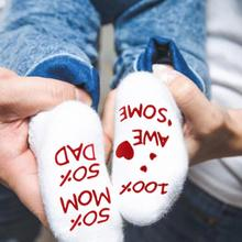 Cute Phrases Infant Baby Socks Combed Cotton Baby Socks Infant Toddler Anti Slip Socks 0-1 year 2019 New Arrival balleenshiny new arrival baby big eyes socks soft non slip cute spring autumn infant toddler comfortable fashion floor socks