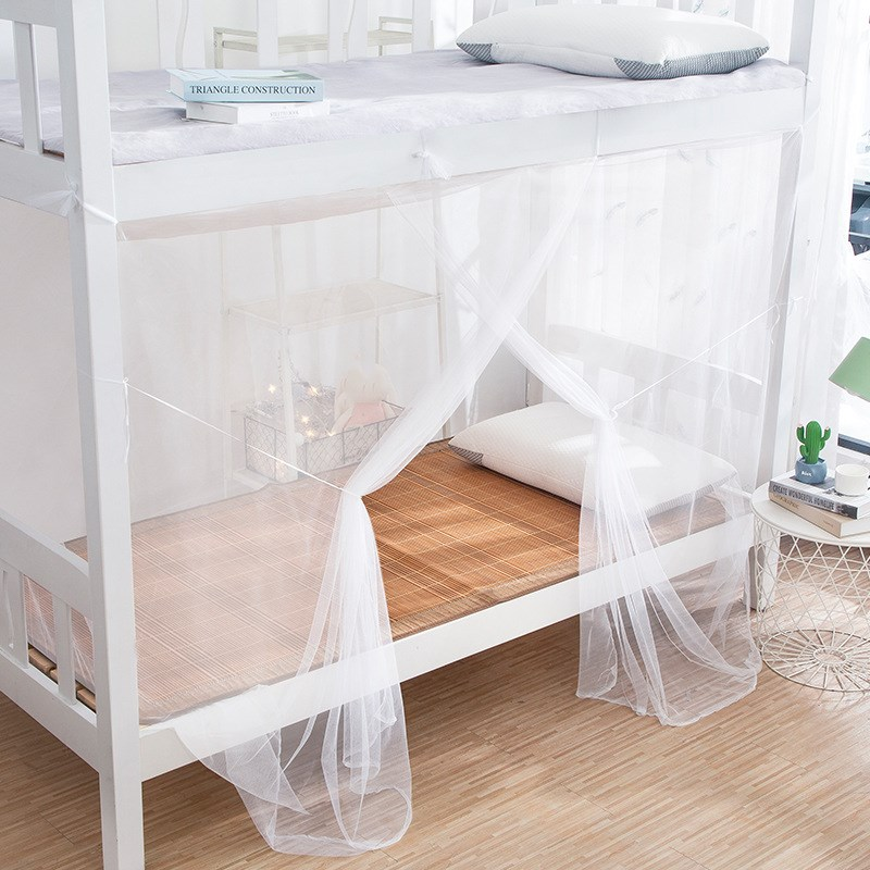 5 Colors Mosquito Net Single Door Outdoor Camping Mosquito Net Student Bunk Beds Curtain Anti Mosquito Bed Tent Mesh Bed Canopy Super Discount 1c11 Cicig