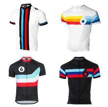 лучшая цена Retro Cycling Jersey Twin Six 6 funny men Road Mtb Cycling shirt Bicycle Short sleeve Maillot Ciclismo Bike sportswear clothing