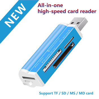 memory Cards Reading Device Micro USB OTG to 2.0 Adapter SD Card Reader For Android Phone Tablet PC