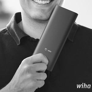Image 5 - Xiaomi Mijia Wiha Daily Use Screw Kit 24 Precision Magnetic Bits Alluminum Box Screw Driver xiaomi smart home Kit