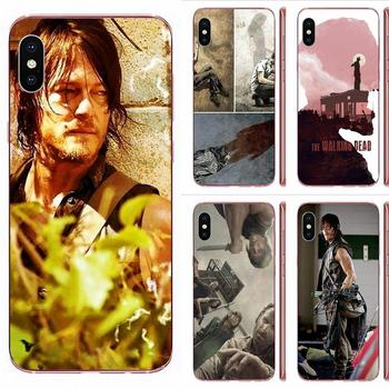 For Galaxy Grand A3 A5 A7 A8 A9 A9S On5 On7 Plus Pro Star 2015 2016 2017 2018 TPU Protector Darly Dixon The Walking Dead Zombies image