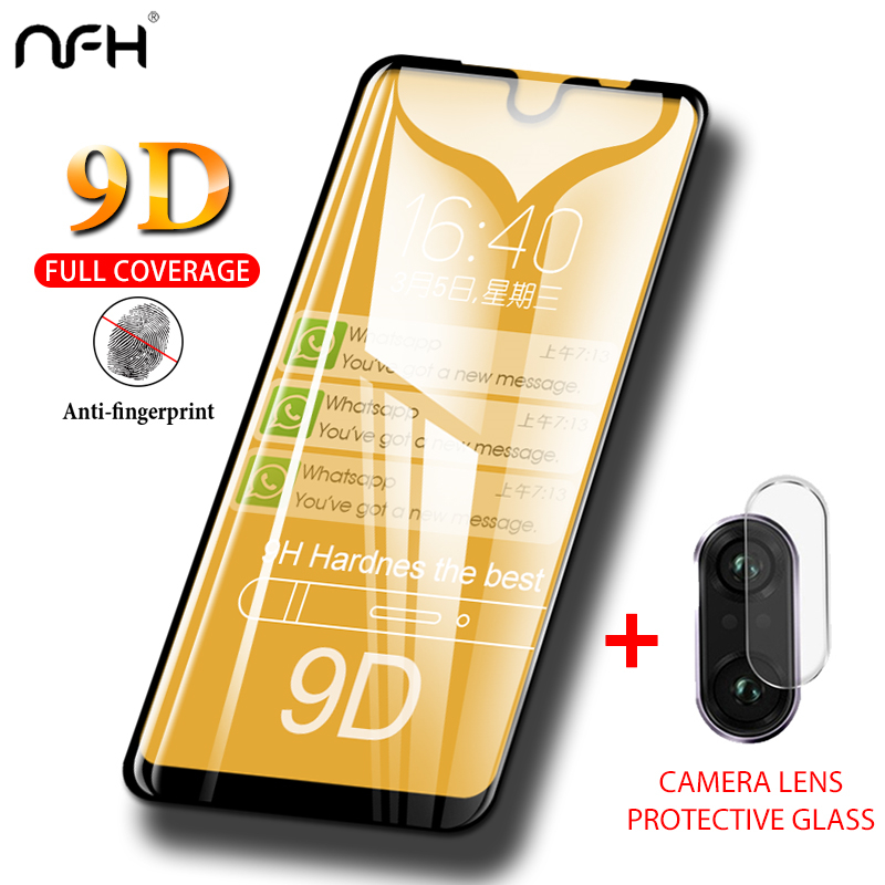 2-in-1 Redmi 7 Note 7 Pro Glass 9D Tempered Glass For <font><b>Xiaomi</b></font> <font><b>Mi</b></font> 9 T <font><b>9T</b></font> Pro Redmi K20 Pro <font><b>Camera</b></font> Lens Glass Film Screen <font><b>Protector</b></font> image