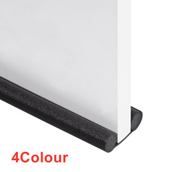 93cm Under Door Draft Stopper Acustic Foam Sealing Strip Dustproof Windproof Bedroom Door Soundproofing Foam Sponge Strip