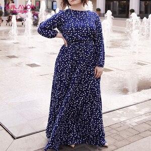 Image 4 - S.รส VINTAGE พิมพ์ชุดยาวผู้หญิงสบายๆฤดูใบไม้ผลิฤดูร้อน Elegant O คอผู้หญิง Maxi Vestidos ไม่มีกระเป๋า