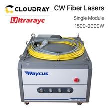 Ultrarayc Raycus Fiber Laser Power Supply Single Module 1500-2000W 1064nm for Cutting Machine RFL-C1500S RFL-C2000S