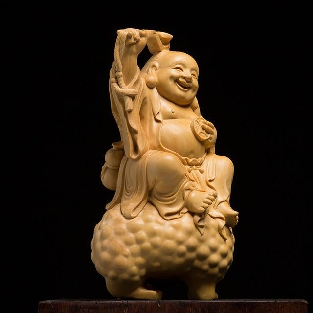Porte-Bonheur Feng Shui Bouddha Rieur Crapaud