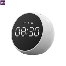 Zmi Smart Klok Alarm Voice Control Bluetooth 5.0 Speaker Stereo Muziek Surround Met Mic Draagbare Indoor Luidspreker