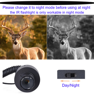 Image 5 - 2020 New Hot Outdoor Hunting Optic Sight Tactical Riflescope Infrared night vision with Sunshade NEW LCD