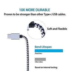 Image 3 - Olnylo USB Type C 케이블 (One Plus 6 용) 5t 빠른 충전 USB C 고속 충전 USB 충전기 케이블 (삼성 Galaxy S10 S9 S8 Plus 용)