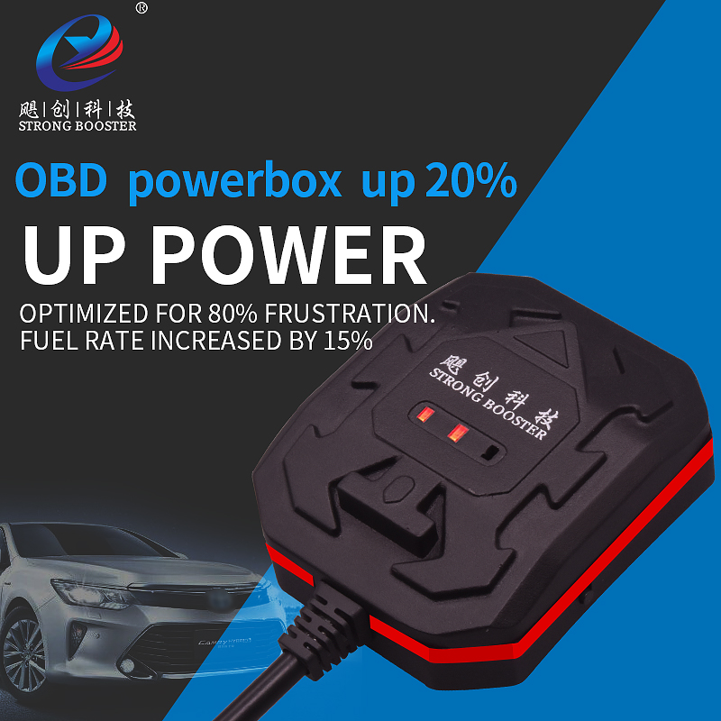 For Cars Optimized Wave OBD Powerbox Upgrade Power Resolve Slow Optimized For 80% Frustration.Fuel Rate Increased By 15%