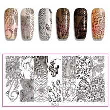 Template Angel Nail Stamping Flower Manicure Image-Pattern Summer Popular Bc1--44 Plate-Instruments-Tool