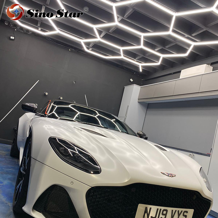Stc202 The Customized Led Hexagonal Light Without The One Step Installation For The Car Detailing And Car Polishing Light Aliexpress