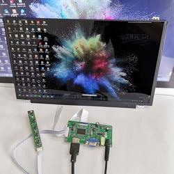 Módulo de pantalla táctil capacitiva de 15,6 pulgadas 1920x1080 para Linux/android/win7 8 10 Raspberry Pi3 plug and play pantalla LCD DIY kits