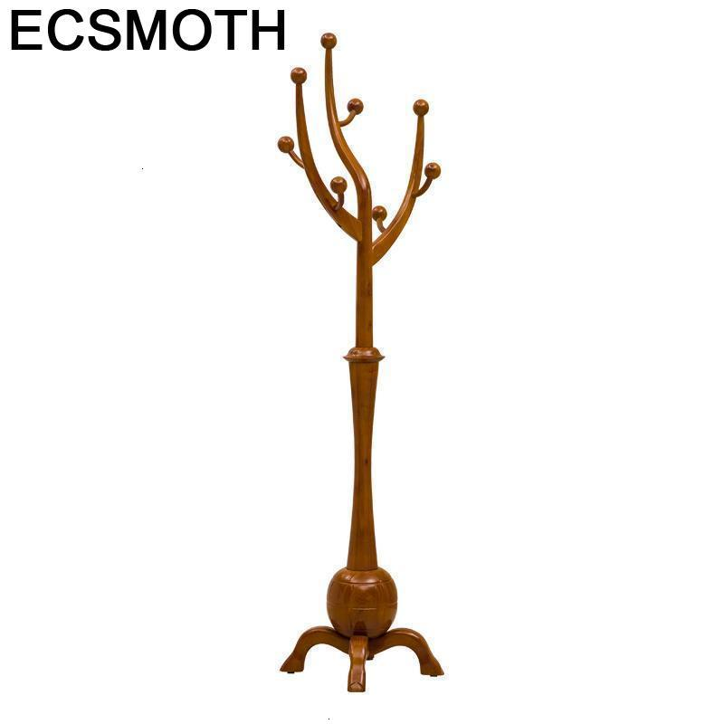Armario Aski Wall Coat Hat Stand Rack Pared Porte Manteau Mural Decoratif Wooden Cabide Cintre Perchero De Pie Clothes Hanger