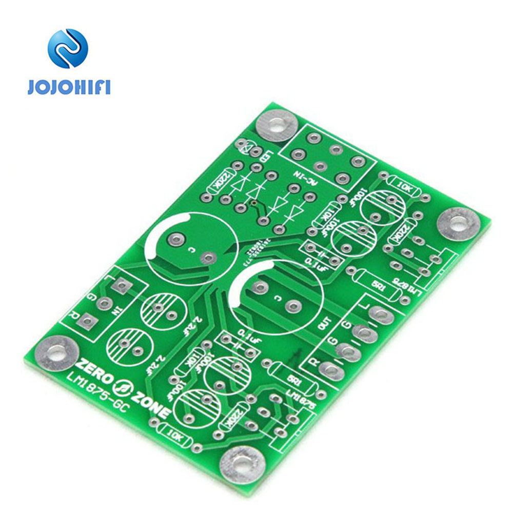 DIY PCB For GC Gaincard Version Dual Channel LM1875 Power Amplifier PCB Empty Board Guts Power Amplifier Board