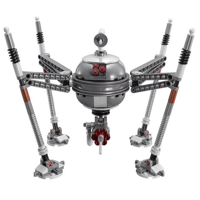 05025 Spider Robots Building Blocks Compatible With Legoing Star Wars 75142 Starwars Bricks Birthday Gift Toys For Children