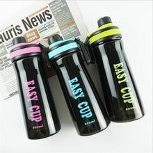 Пластиковая Спортивная бутылка для воды, для мужчин, для тренажерного зала, для фитнеса, шейкер, бутылка, BPA бесплатно, переносная Питьевая бутылка, 800 мл, большая емкость