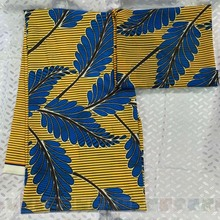 2019 lmitated african silk satin fabric wax chiffon print ankara snow spinning breathable 4yards+2yards