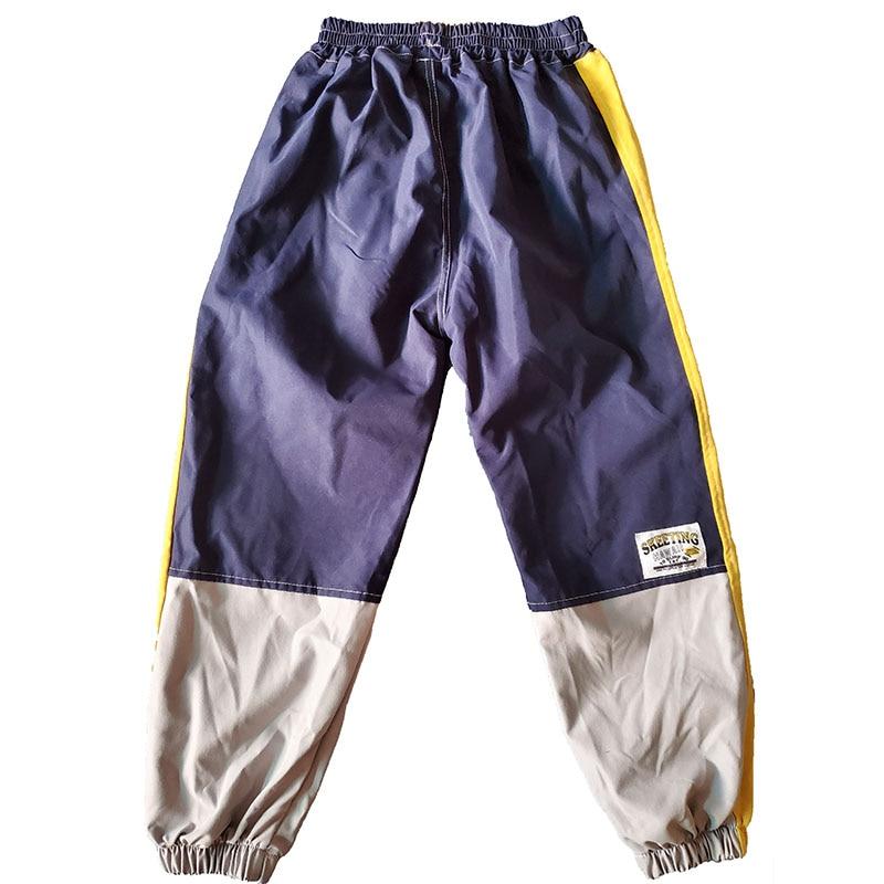 VFOCHI 2021 Boys Pants Winter Patchwork Pencil Pants 3-14T  Kids Trousers Teenager Boy Clothing Elastic Waist Boy Cargo Pants 6