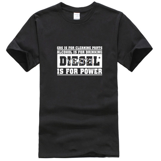 Diesels is Power Truck Piston Stroke for Man T-shirt and <font><b>Shorts</b></font> 2019 New Summer Men Cotton <font><b>Cool</b></font> <font><b>Short</b></font> Sleeve T-shirts image