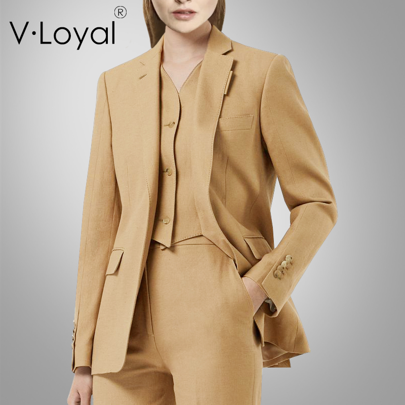 Fashion Self-cultivation Fake Two-piece Vest Suit Jacket European And American Small Suit Jacket
