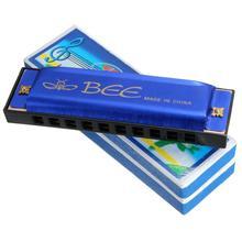 10 отверстий 20 C тон губная гармоника рот ключ орган для музыкального инструмента игрушка Дети подарок Любовник