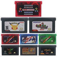 32 Bit Video Game Cartridge Console Card 150in1 Compilation English Language For Nintendo GBA