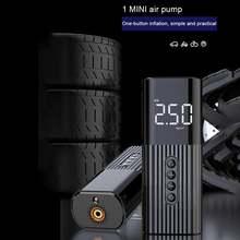 Беспроводной воздушный компрессор для шин 12 В велосипедный
