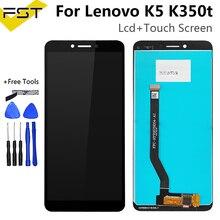 ЖК-экран 5,7 дюйма для Lenovo K350T K5, ЖК-дисплей + сенсорная панель, дигитайзер в сборе для Lenovo K350T K5