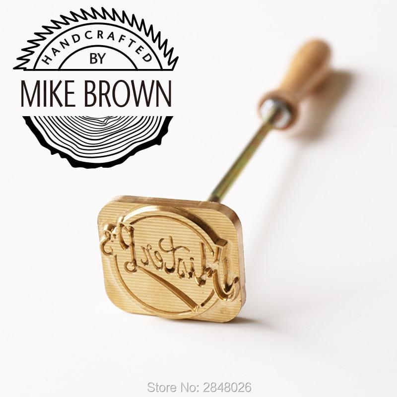 Özel el işi Logo tarafından/ahşap marka demir, deri marka, ahşap damga, düğün hediyesi, ağaç hediye, iş damgası