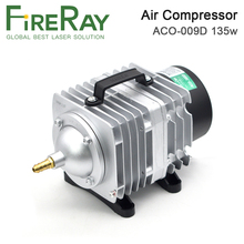 FireRay 135W Air Compressor Electrical Magnetic Air Pump for CO2 Laser Engraving Cutting Machine ACO-009D air pump air compressor 35w 40l electromagnetic air pump for laser cutting machine