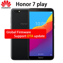 New Honor 7 Play 2GB 16GB 5.45″ honor play 7 FullView Display 4G LTE Android 8.1 Quad Core 3020mAh Smartphone