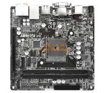 -Pengiriman Tes untuk AM1H-ITX AM1 DDR3 DC Power Supply Mini ITX Motherboard(China)