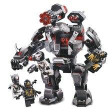 Marvel Avengers 4 Infinity War Endgame Building Blocks Super Hero Captain Buster Ultron Iron Man Toys For Children