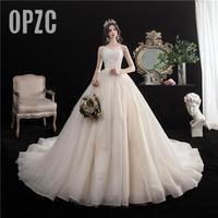 high quality Luxury Lace bead sexy Strapless Elegant wedding dress Dubai Vestidos De Novia bride Gowns Robe De Mariee plue size