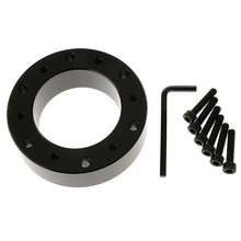 цена на Universal Steering Wheel Hub Spacer Wheel Gasket Spacer Hub Bolt Kit For Momo Sparco NRG Car Steering Wheel Gasket