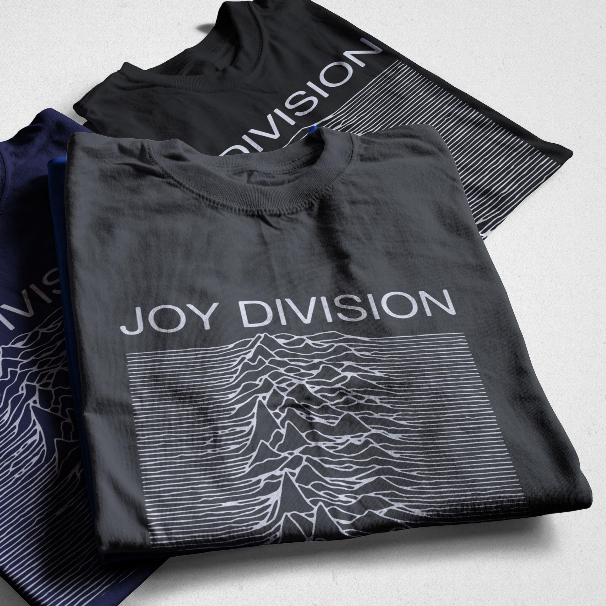 Космическая струна 100% хлопок Летние мужские футболки Joy Division неизвестное удовольствие панк крутая футболка рок хипстерская футболка футбо...