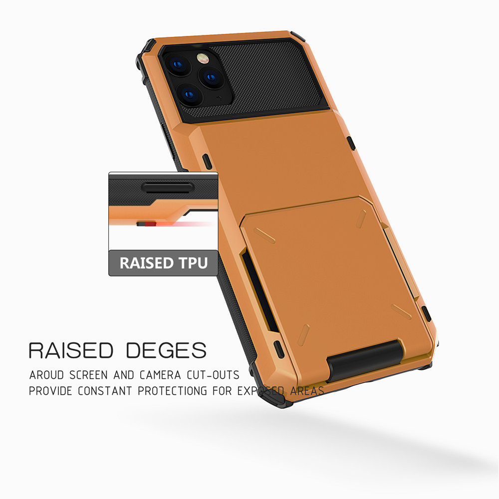 Multi Card Holder Case for iPhone 11/11 Pro/11 Pro Max 8