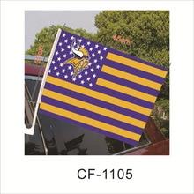Flag American Badge Cheerleading-Flag Saints Football-Team-Logo Stripe 30cm--45cm