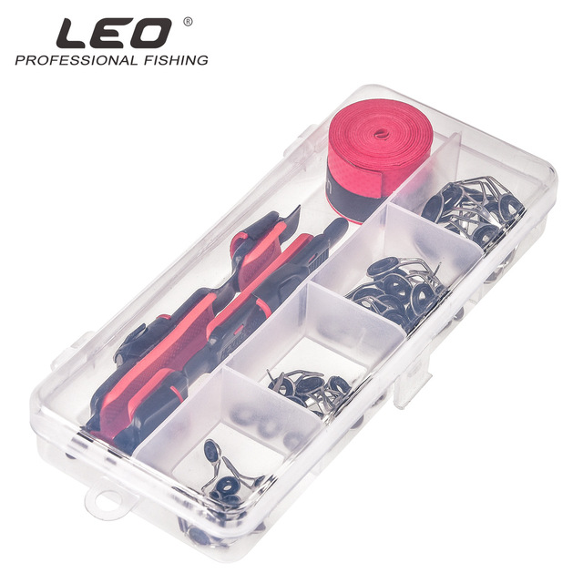 Lure Accessories Set DIY Fishing Reel Wheel Seat Rod Clip With Sweat Belt And Guide Ring 2