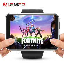 LEMFO LEMT 4G Game Smart Watch 2.86 inch Big Screen Android 7.1 3G RAM 32G ROM LTE 4G Sim Camera GPS WIFI Heart Rate Men Women(China)
