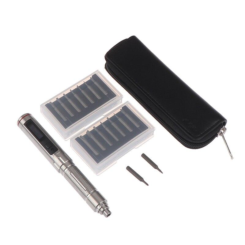 1Set ES120 Mini Precision Cordless Electric Screwdriver Smart Motion Control Power 14pcs Screwdriver Bit Set