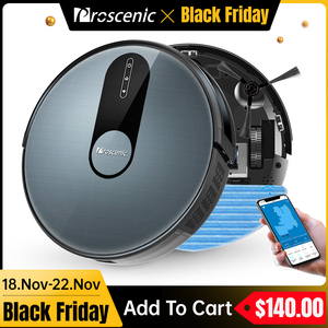 Image 1 - Proscenic 820P Robot Vacuum Cleaner Smart Planned 1800Pa Suction with wet cleaning for Home Carpet Cleaner Washing Smart Robot