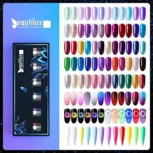 Beautilux Glitter Nail Gel Polish Kit 6pcs/set x10ml Mermaid Platinum Rainbow Chameleon Semi Permanent Nails Art Varnish Lot