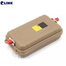 Mini OTDR เปิดตัวกล่องสายเคเบิล 100M FC FC SC FC SC SC SingleMode SM 9/125um Bare fiber OTDR Dead Zone eliminator ELINK จัดส่งฟรี