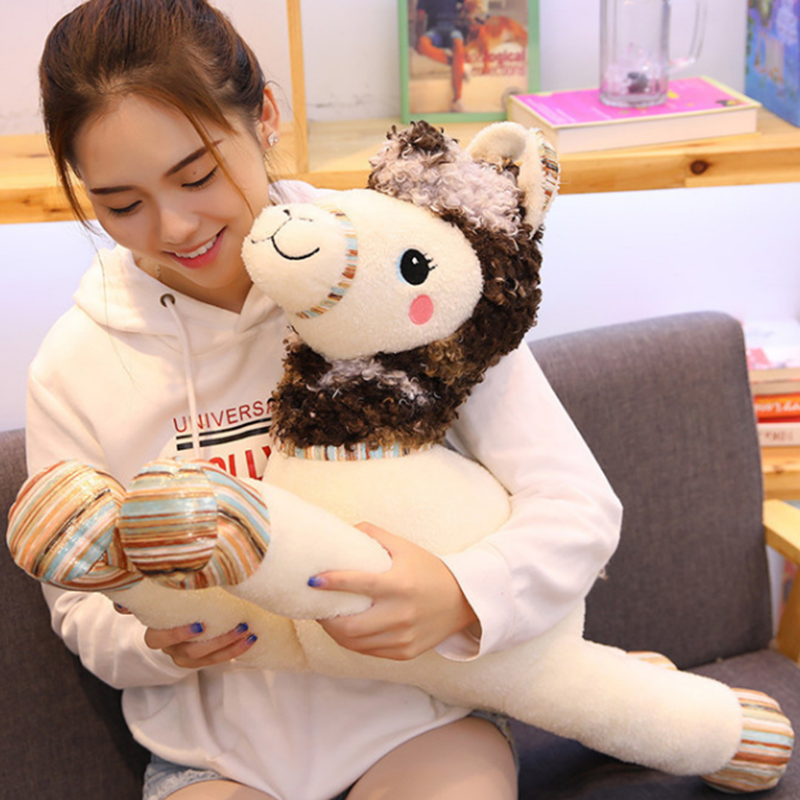 Stuffed Animals & Plush Toy Doll Action & Toy Figures kid Dolls & AccessoriesSleeping Pillow Baby Classic Toys Cartoon Alpaca | Stuffed & Plush Animals