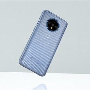 Image 3 - 100% oficial capa de almofada traseira caso para oneplus 7 t amortecedor protetor acessórios originais
